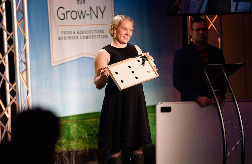 eLab Alumni Wins $250K at Grow-NY